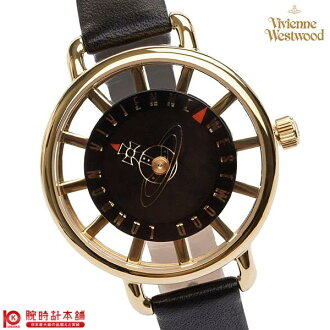 Vivien clock Vivien waist Wood VV055BKBK [overseas import goods] Lady's watch clock