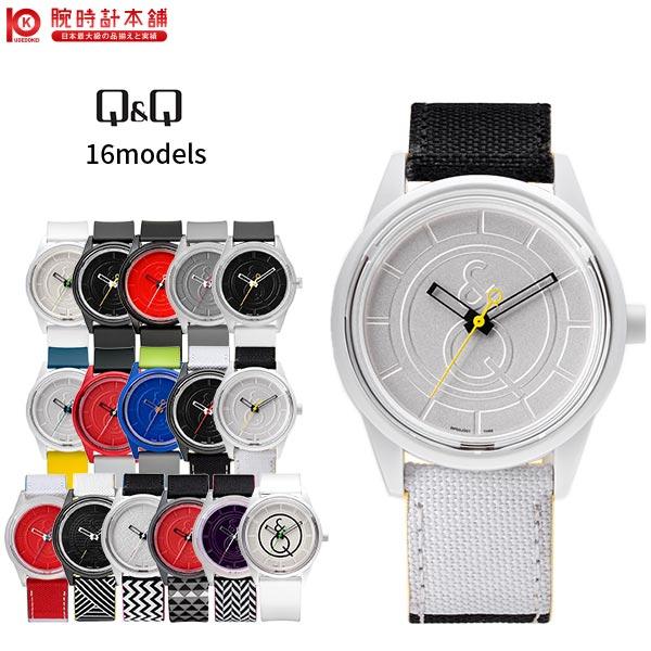 シチズン キュー&キュースマイルソーラー Q&Q ホワイト×ホワイト RP00J001 [正規品] メンズ&レディース 腕時計 時計