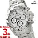 ブロニカ BRONICA ホワイト×シルバー BR-817-SI [正規品] メンズ 腕時計 時計【あす楽】
