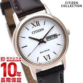 【28日まで店内最大ポイント38倍!】 シチズンコレクション CITIZENCOLLECTION エコドライブ ソーラー EW3252-07A [正規品] レディース 腕時計 時計