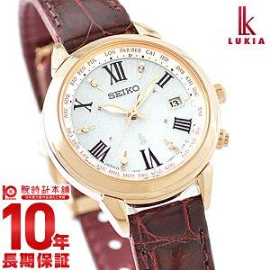 セイコー ルキア LUKIA ソーラー電波 10気圧防水 SSQV022 [正規品] レディース 腕時計 時計【24回金利0%】