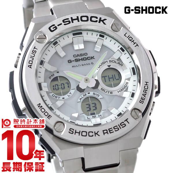 【最大2000円OFFクーポン!22日20時から】【店内ポイント最大43倍!】カシオ Gショック G-SHOCK Gスチール ソーラー電波 GST-W110D-7AJF [正規品] メンズ 腕時計 時計【24回金利0%】