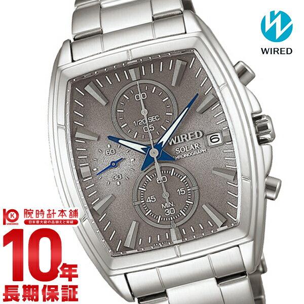 【ポイント10倍】セイコー ワイアード WIRED 100m防水 ソーラー AGAD085 [正規品] メンズ 腕時計 時計
