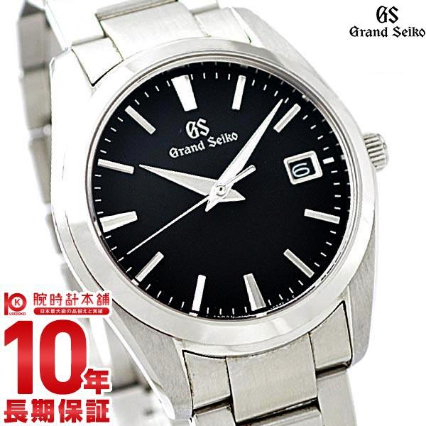 セイコー グランドセイコー GRANDSEIKO 9Fクオーツ 10気圧防水 ブラック SBGX261 [正規品] メンズ 腕時計 時計 クリスマスプレゼント