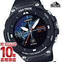 【ポイント10倍】【24回金利0%】カシオ プロトレック PROTRECK Bluetooth搭載 WSD-F20-BK [正規品] メンズ 腕時計 時計(予約受付中)