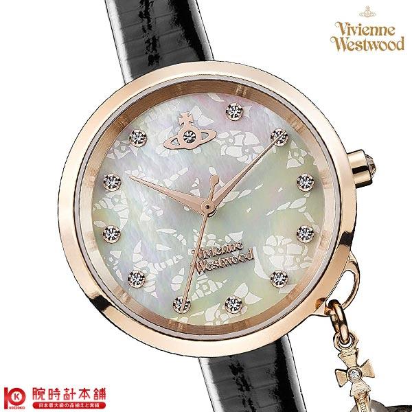 【ポイント最大4倍!19日23:59まで】ヴィヴィアン 時計 ヴィヴィアンウエストウッド VV139WHBK レディース【あす楽】