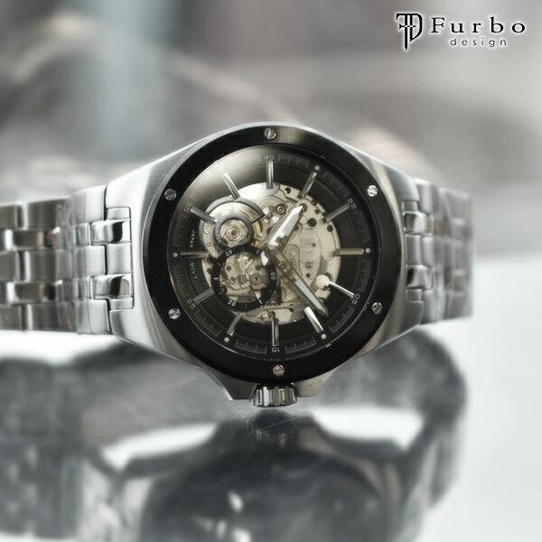 フルボ 時計 フルボデザイン 腕時計 Furbo F2501BKSS メンズ父の日 プレゼント ギフト【あす楽】