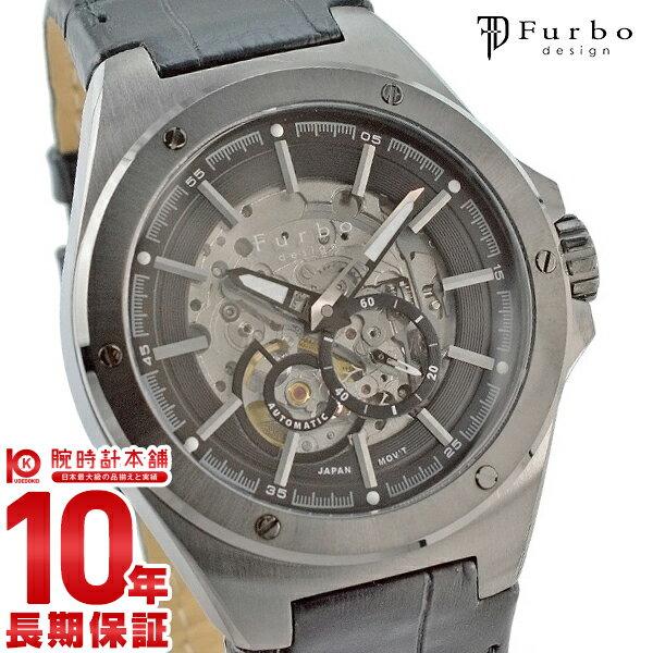 フルボ 時計 フルボデザイン 腕時計 Furbo F2501GBKBK メンズ父の日 プレゼント ギフト【あす楽】