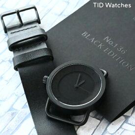 【店内ポイント最大42倍!14日9:59まで】 ティッドウォッチ TID Watches TID01-36blackedition ユニセックス【あす楽】