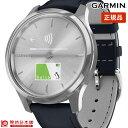 ガーミン GARMIN vivomove Luxe Navy Leather / Silver 010-02241-70 ユニセックス