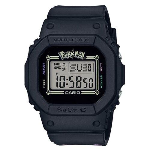 カシオベビーGBABY-GピカチュウコラボレーションモデルBGD-560PKC-1JRレディース腕時計クオーツ20気圧防水カジュアル