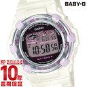 BABY-G 電波 ソーラー レディース デジタル ホワイト ベビーG Cherry Blossom Colors BGR-3000CBP-7JF カシオ CASIO 腕時計 時計