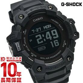 G-SHOCK Gショック ブラック メンズ ソーラー 心拍計 歩数計 トレーニングログ 消費カロリー表示 時刻修正 ワールドタイム モバイルリンク ジーショック GBD-H1000-1JR カシオ CASIO USB充電 腕時計 時計