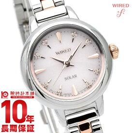【18日限定!店内最大ポイント38.5倍!】 セイコー ワイアード 腕時計 レディース WIRED ソーラー 時計 AGED107 シルバー 新作 2021【あす楽】