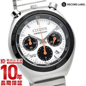 シチズン レコードレーベル RECORDLABEL TSUNOCHRONO ツノクロノ 特定店取扱いモデル Cal.0510 AN3660-81A メンズ 腕時計