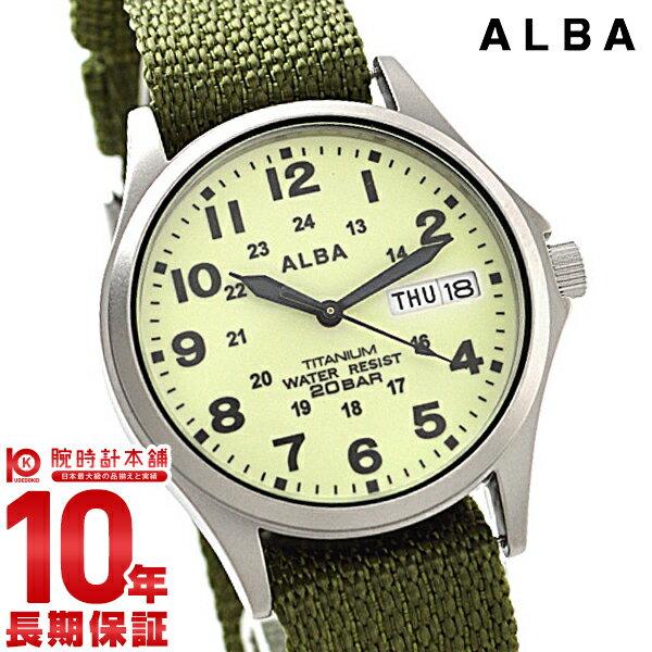 セイコー アルバ ALBA 200m防水 イエロー×カーキ APBT209 [正規品] メンズ 腕時計 時計【あす楽】