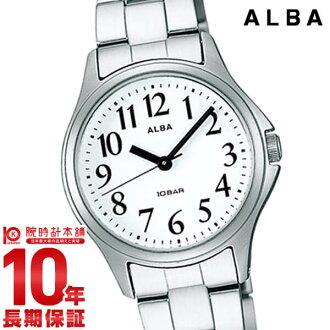 精工阿鲁巴ALBA 100m防水AADS025[正规的物品]女士手表钟表