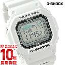 【先着5000枚限定200円割引クーポン】カシオ Gショック G-SHOCK G-LIDE Gライド ホワイト×ブラック GLX-5600-7JF [正…