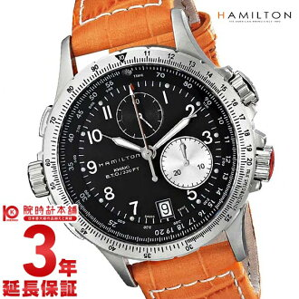 Hamilton khaki watch HAMILTON アビエイション ETO H77612933 [overseas import goods] men clock