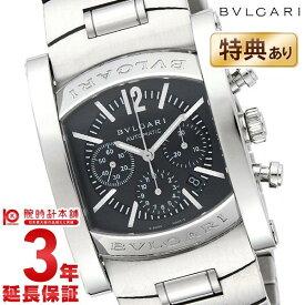 85a3709d1f BVLGARI [海外輸入品] ブルガリ アショーマ グレー クロノグラフ 自動巻 AA44C14SSDCH メンズ 腕時計