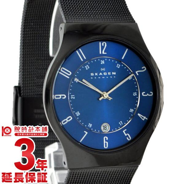 【18日は店内ポイント最大39倍!】スカーゲン メンズ SKAGEN チタニウム デイト T233XLTMN [海外輸入品] 腕時計 時計【あす楽】