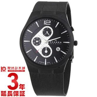 sukagen SKAGEN计时仪日历906XLTBB[海外进口商品]人手表钟表