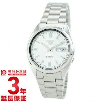 5 精工精工精工 seio5 0 SNXS73J1 男子手腕上的手表银 #99815