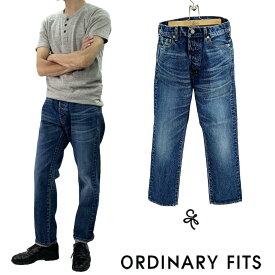 新入荷!Ordinary Fits 2020春夏モデルメンズ 5PKT ANKLE DENIM USED WASH 3YEAR 5ポケット アンクルデニム ユーズドウォッシュ 3Y 3年 men's オーディナリーフィッツ 即日発送!