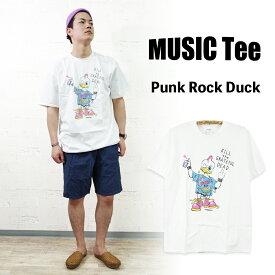 【MUSIC Tee】Punk Rock Duck (As Worn By Kurt Cobain, NIRVANA)