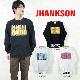 【JHANKSON】BASEBALL L/S Tee