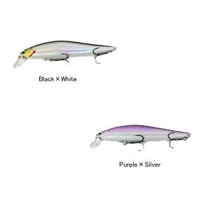 SN-10ミノー 鮎 100mm Black×White / Purple×Silver 鮎タイプのミノー 抜群のクオリティで リアルな小魚を演出 重心移動システム搭載 安定の飛距離 安定の泳ぎ