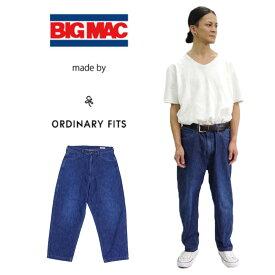 【BIG MAC made by ORDINARY FITS】デニムペインターパンツ