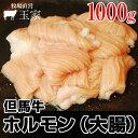 神戸牛のルーツ黒毛和牛◎但馬牛 ホルモン(大腸) 1,000g(冷蔵) 国産 牛肉 てっちゃん シマチョウ 肉 テッチャン もつ鍋 しまちょう