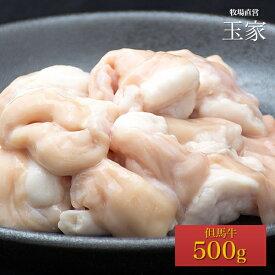 神戸牛のルーツ黒毛和牛◎国産 但馬牛 ホルモン(小腸) 500g(冷蔵) 牛肉 こてっちゃん 肉 牛肉 コテッチャン