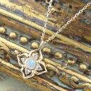 ネックレス レディース☆Royal Classic☆アンティークの宝石箱をのぞいたよう…!クラシカルな雰囲気が今の気分♪『オパール』と『ダ…