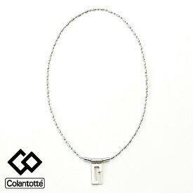 COA ネックレス LECT(レクト)ABARB( スポーツアクセサリー 磁気ネックレス 磁気アクセサリー コランテット コラントテ シルバー )