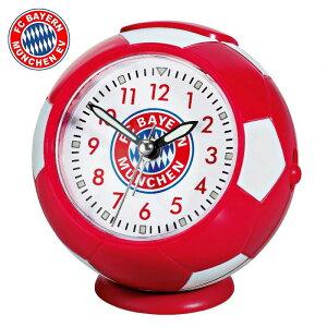 【送料無料】バイエルン ミュンヘン アラームクロック( サッカー フットサル グッズ 目覚まし時計 置時計 時計 とけい グッズ バイエルングッズ バイエルンミュンヘン BAYERN MUNCHEN )