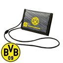 ドルトムント BVB ウォレット(ネックストラップ付)( 財布 サイフ さいふ サッカー フットサル グッズ ドルトムント )