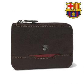 FCバルセロナ コインケース ブラウン MHBF00705MA( サッカー フットサル グッズ バルセロナ ファングッズ )