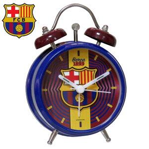 FCバルセロナ目覚まし時計 アラームクロックRD131BC( サッカー フットサル グッズ 時計 ウォッチ クロック 置時計 アラームクロック FCバルセロナ )
