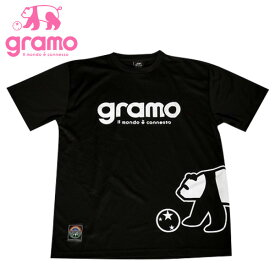 【ノベルティ付き】グラモ プラクティスシャツ FAST2 ブラック( 送料無料 サッカー フットサル ウェア プラクティスシャツ プラシャツ シャツ ゲームシャツ 半袖 グラモ gramo )