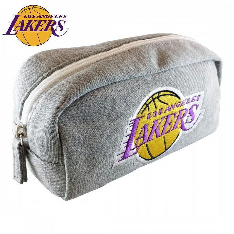 NBA ロサンゼルス・レイカーズ スウェット型ペンポーチ( バスケットボール グッズ ペンケース ペン入れ 筆記用具入れ バスケ ロサンゼルス レイカーズ Los Angeles Lakers )