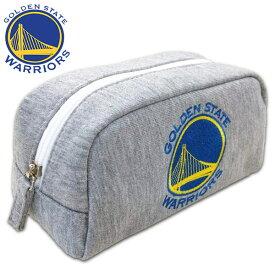 NBA ゴールデンステート ウォリアーズ スウェット型ペンポーチ( NBA バスケ バスケットボール グッズ ペンケース ゴールデンステイト ウォリアーズ ゴールデンステイトウォリアーズ Golden State Warriors )