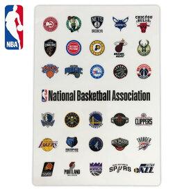 NBA 下敷き ALL NBA33603( バスケ バスケット 文房具 グッズ ロゴマン エヌビーエー NBAロゴ バスケットチーム )