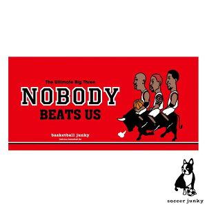 バスケットボールジャンキー ベンチタオル Game Time!+3 BSK21129( バスケットボール バスケ グッズ NBA アクセサリー タオル プレゼント クリスマス 誕生日 )