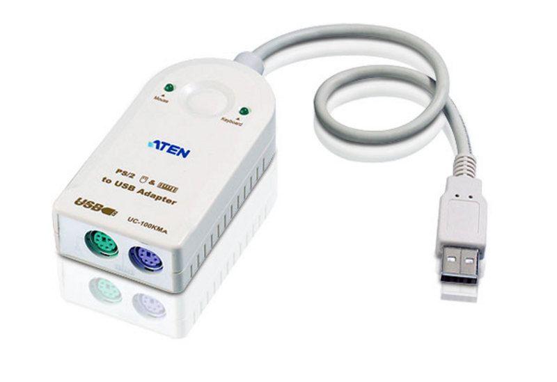 USB/PS2コンバータ(PS2 -> USBキーボード/マウス コンバータ) UC-100KMA/ATEN