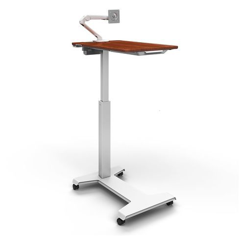 Cart、Patient Engagement Table、Dark Cherry 24-600-F58