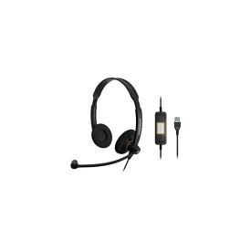 SC 60 USB ML 両耳式USBヘッドセット