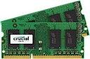 8GB Kit (4GBx2) DDR3 1600 MT/s (PC3-12800) CL11 SODIMM 204pin 1.35V/1.5V CT2KIT51264BF160B