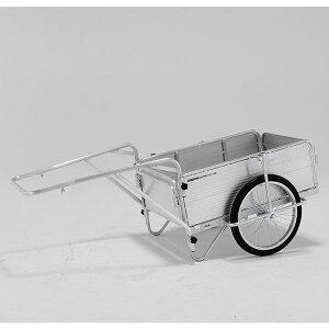 【メーカー直送】 折りたたみ式リヤカー HKM150 アルインコ